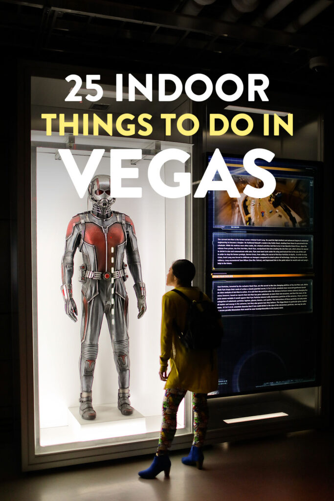 25 Indoor Activities in Las Vegas