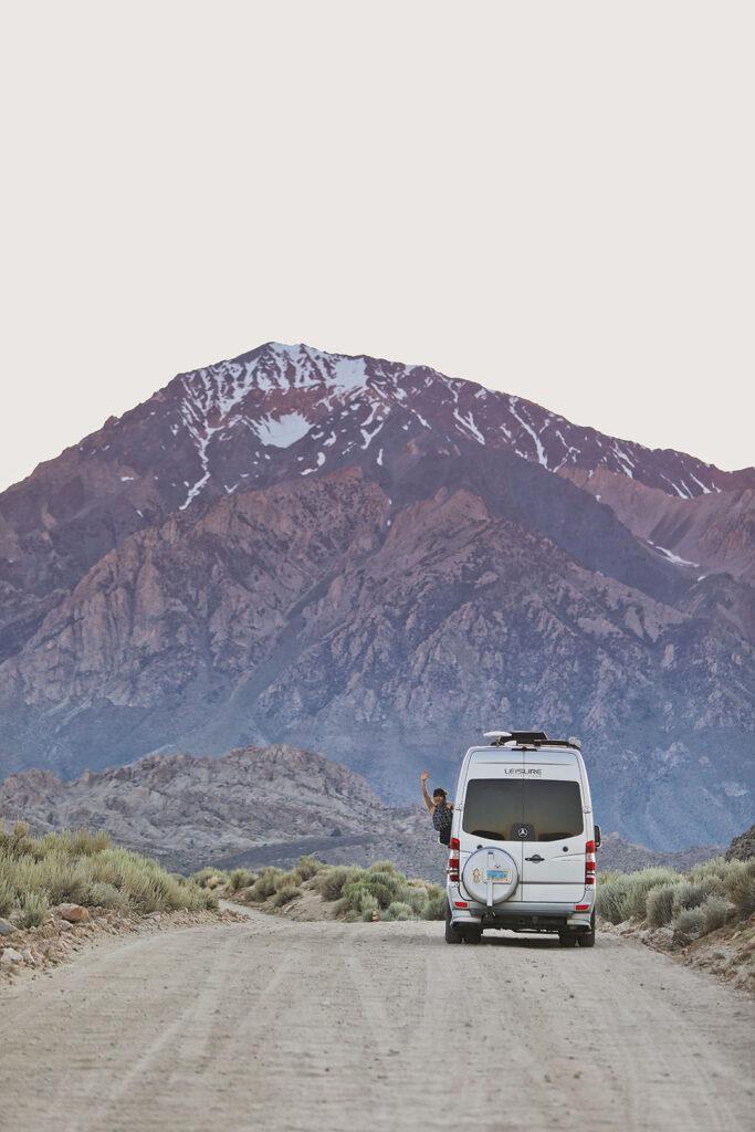 Bishop CA Camping