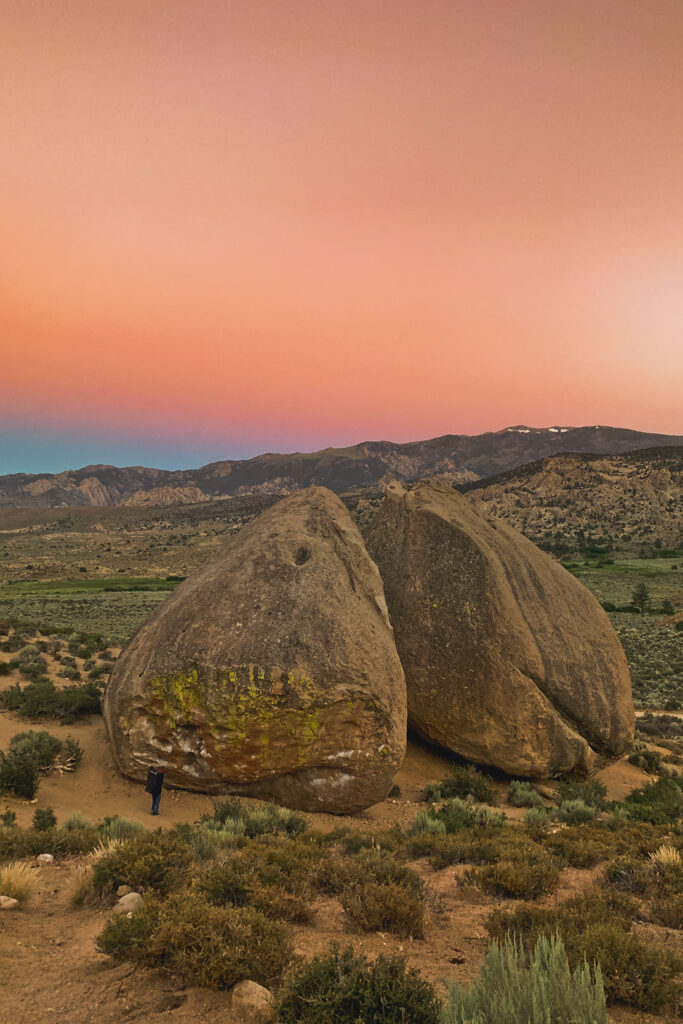 Buttermilk Boulders + 15 Incredible Things to Do in Bishop CA