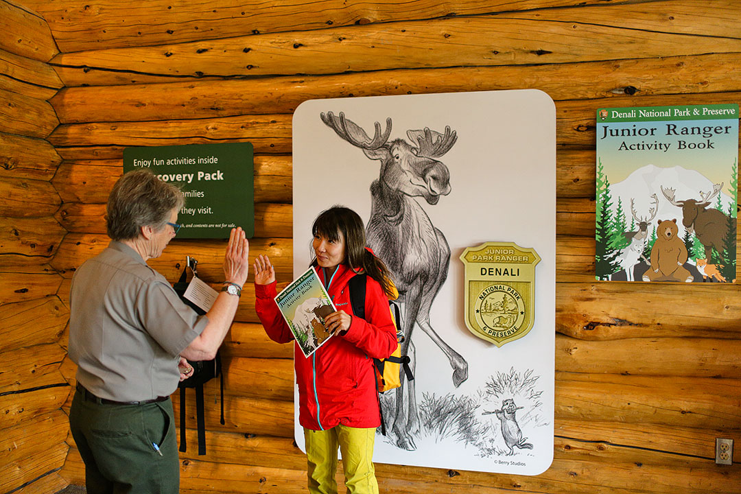 Becoming a Denali National Park Junior Ranger