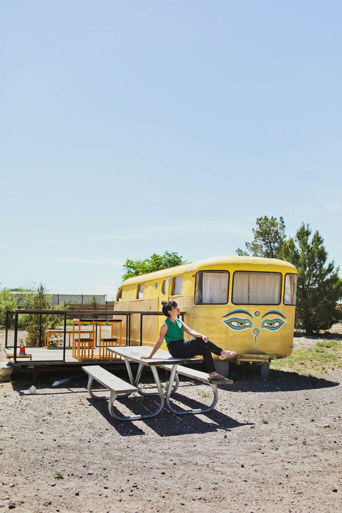El Cosmico Marfa + Where to Stay in Marfa Texas