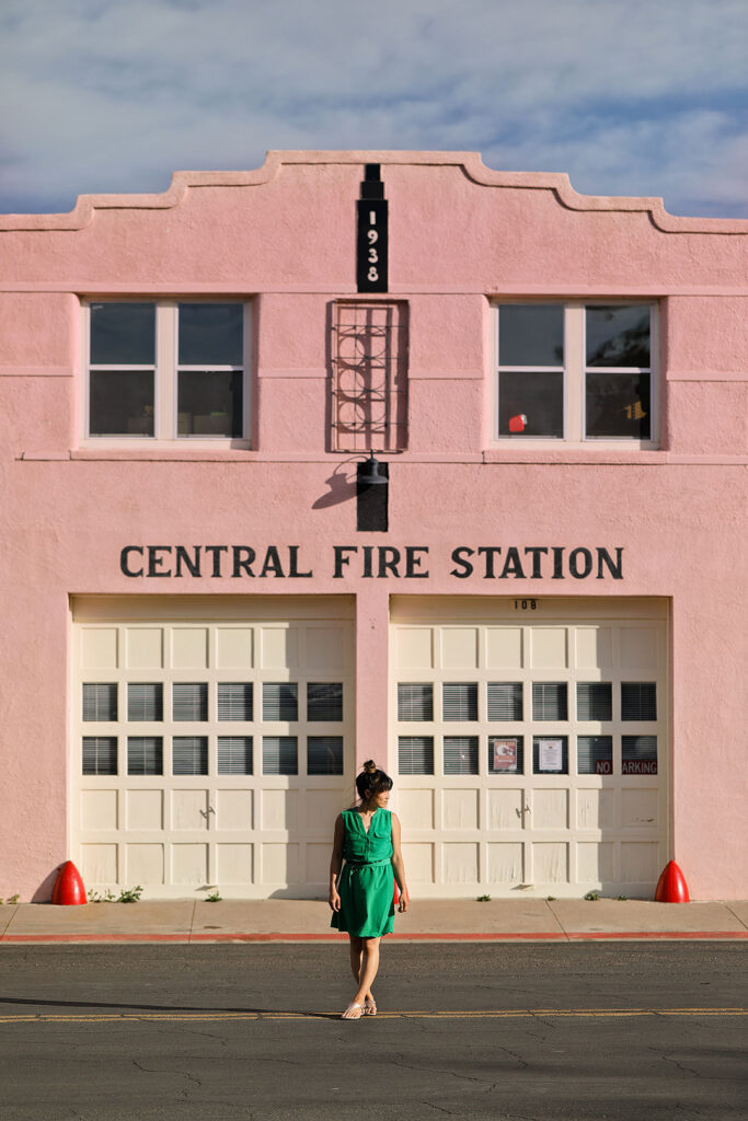 Marfa Fire Station + How to Get to Marfa and What to Do in Marfa