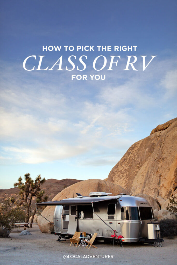 The Different Types of Recreational Vehicles