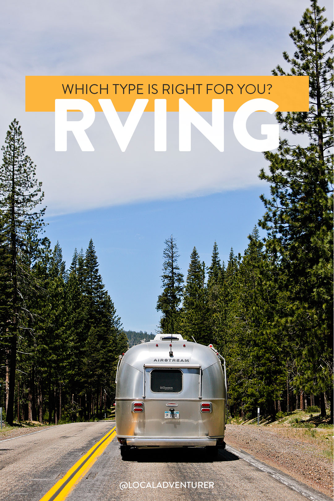 The Different Types of RVs