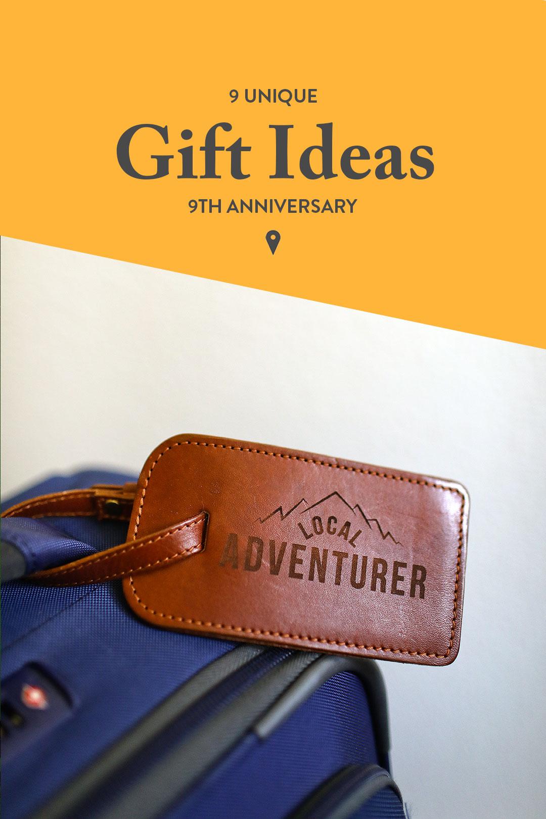 9th Wedding Anniversary Gift Ideas