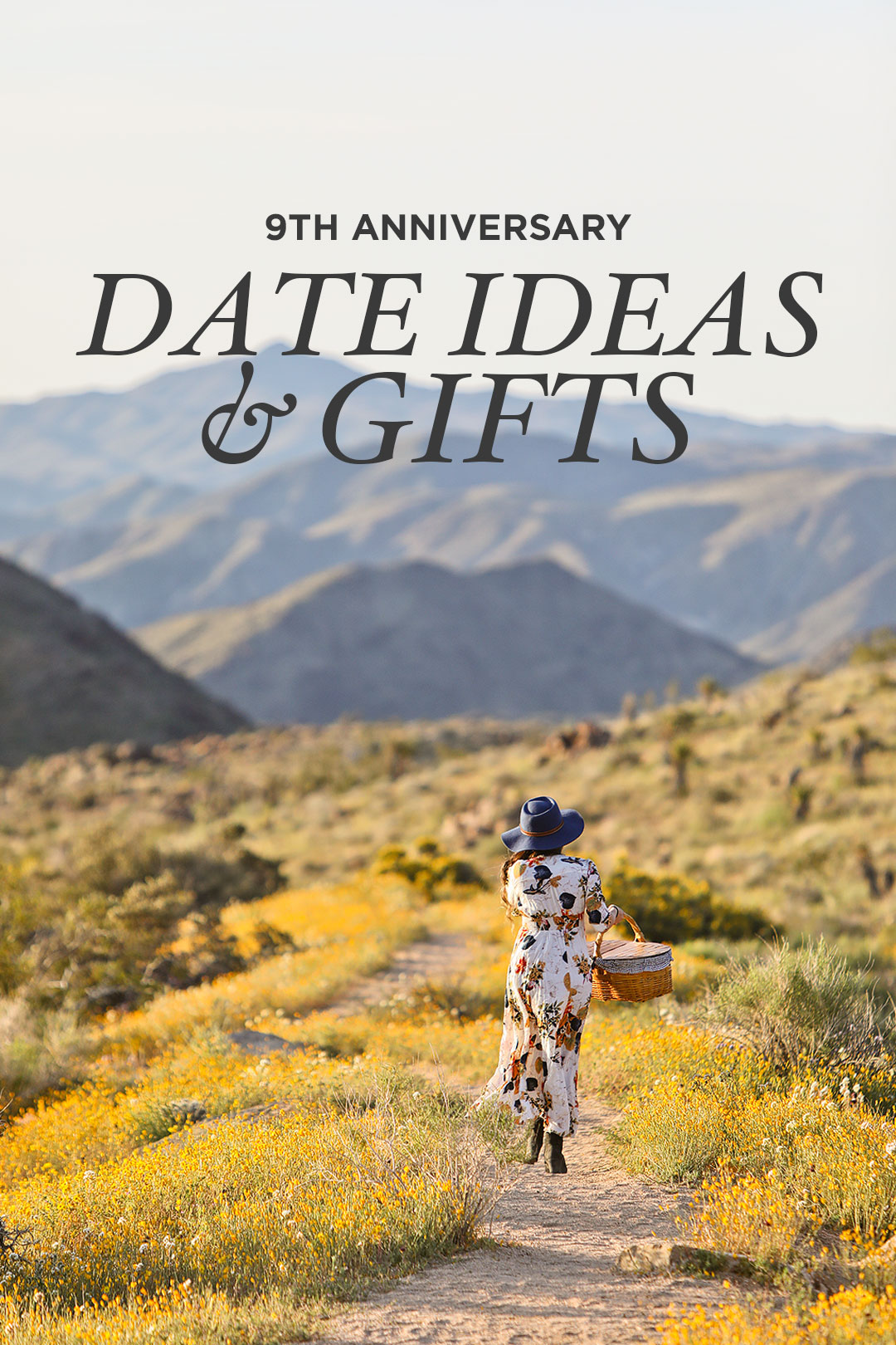 9th Wedding Anniversary Gifts + Date Ideas