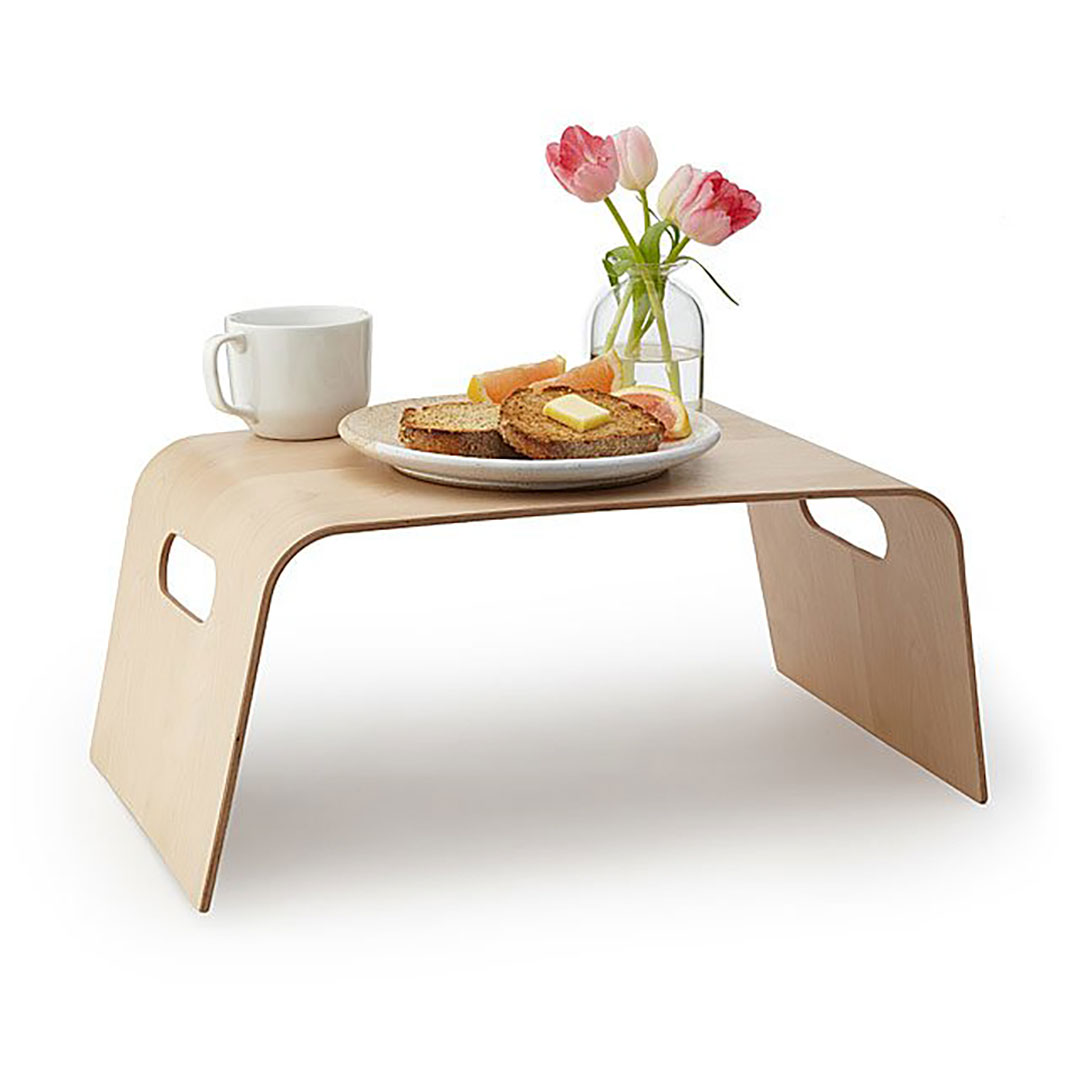 Breakfast in Bed Tray Made of Willow Wood + 9 Willow Wood Gifts for Your 9th Anniversary