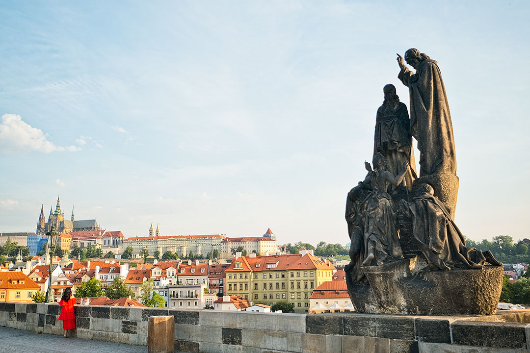 Charles Bridge Statues + 15 Wonderful Things to Do in Prague Czech Republic