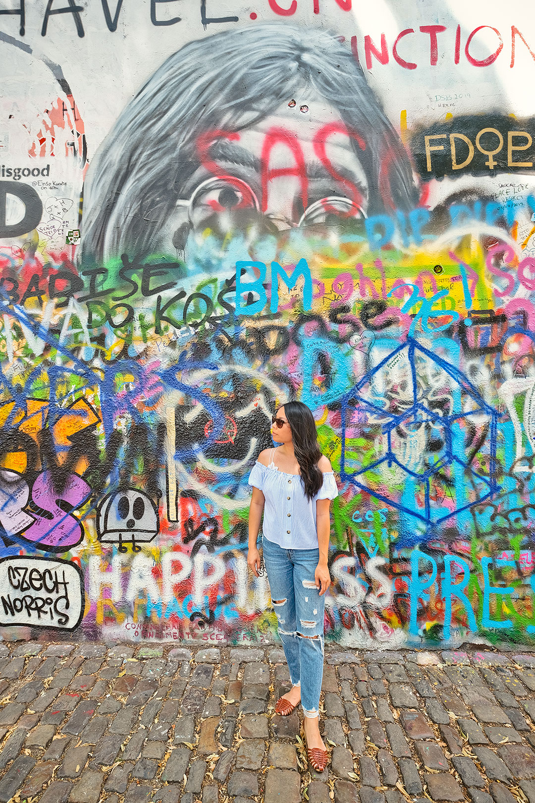 Lennon Wall Prague Attractions