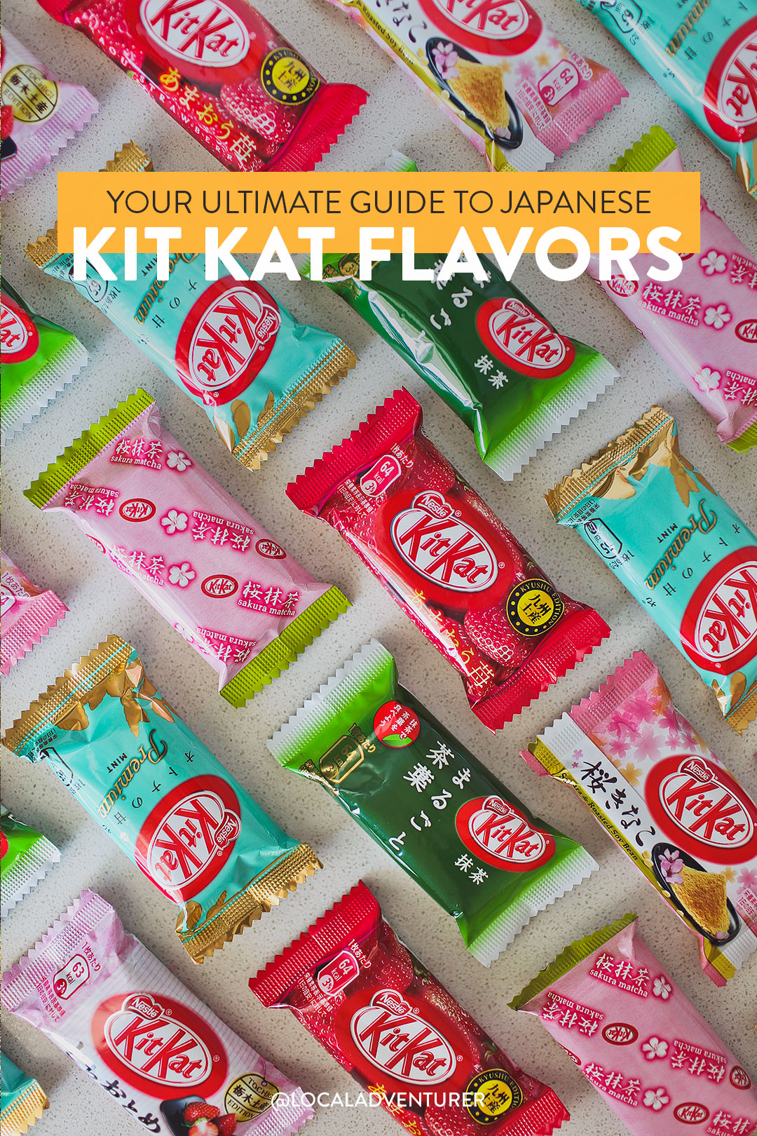 list of kit kat flavors in japan