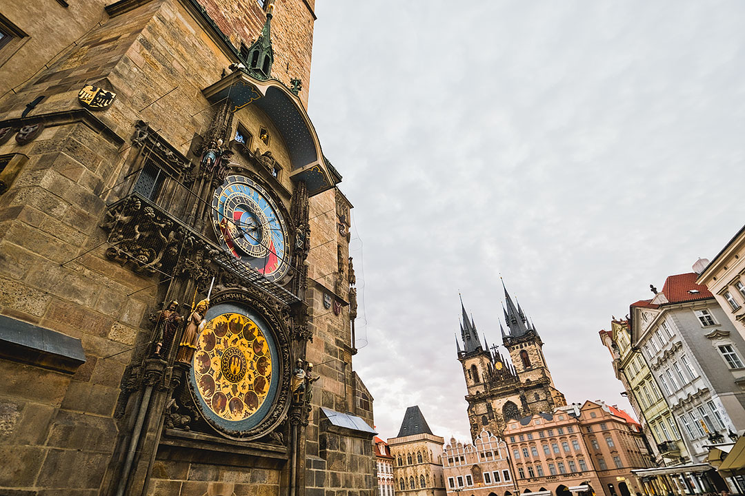 Prague Clock + First Timer's Guide to Prague Czech Republic
