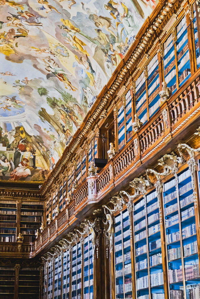 Strahov Montastery Library + 15 Amazing Things to Do in Prague Czech Republic