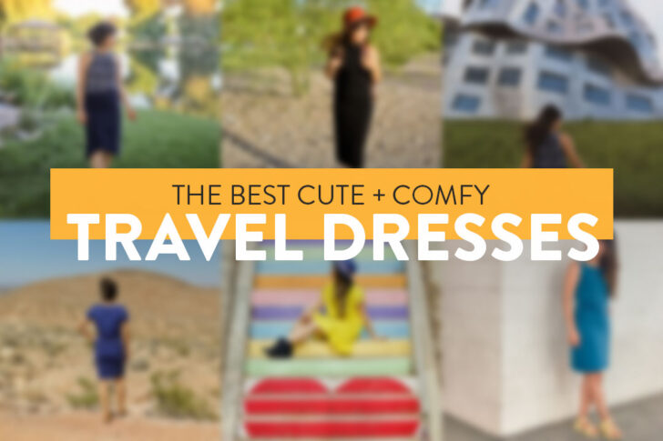 The best travel dresses - wrinkle-free, comfortable and much more