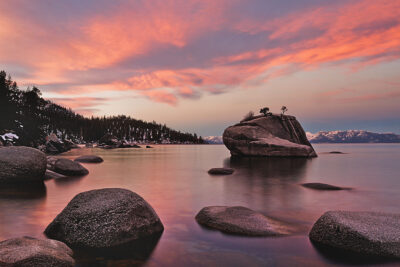 Bonsai Rock Lake Tahoe + 101 Things to See in Nevada