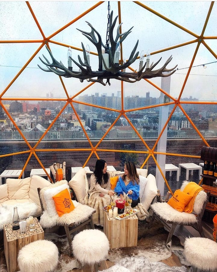 Clicquot Chalet NYC Pop Up // Local Adventurer