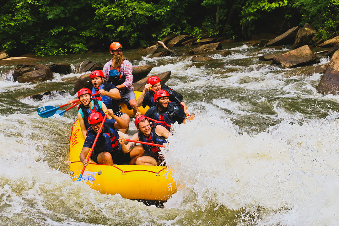 Ocoee River Rafting in Chattanooga
