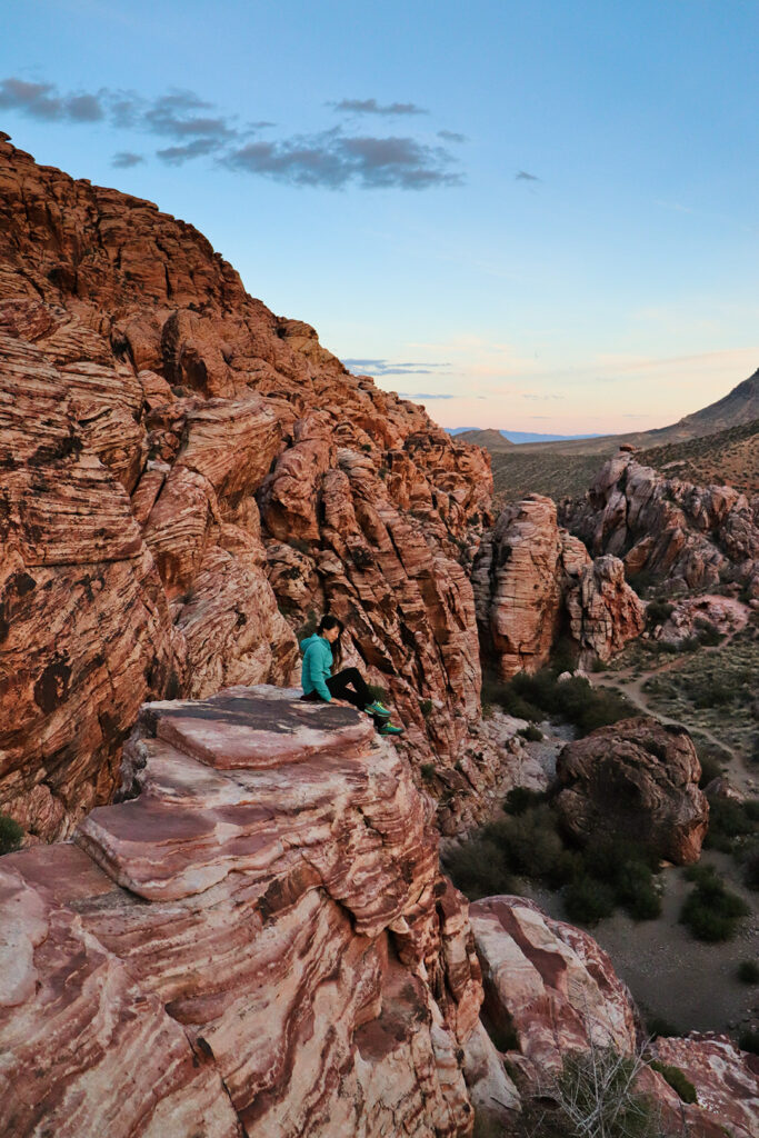 Red Rocks Hiking + Pros and Cons of Living in Las Vegas