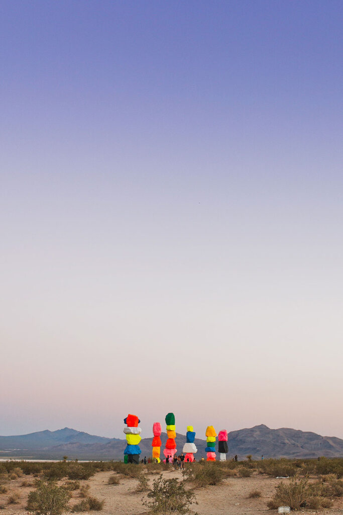 Seven Magic Mountains Las Vegas + 101 Nevada Attractions to Add to Your State Bucket List