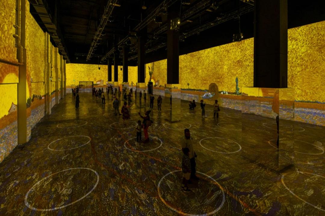 Immersive Van Gogh Exhibit - - The Best New York Pop Up Shops You Must Visit | LocalAdventurer.com