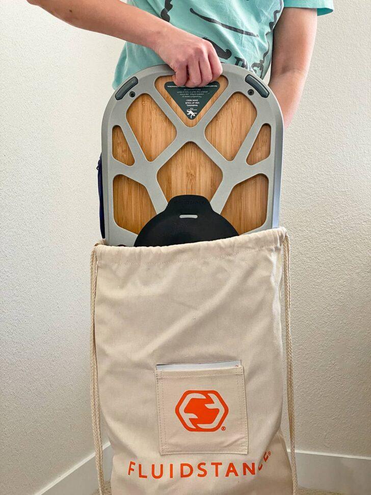 Fluidstance Balance Board Bag Gift for Climbers