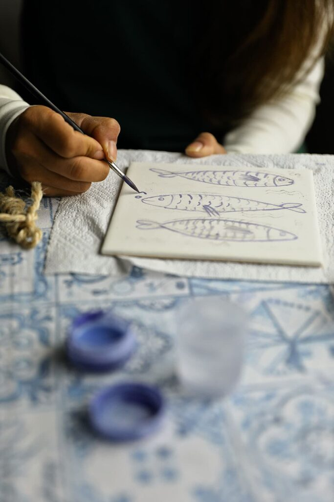 Portuguese Tiles Painting Class + What to Expect on Your First Portugal River Cruise
