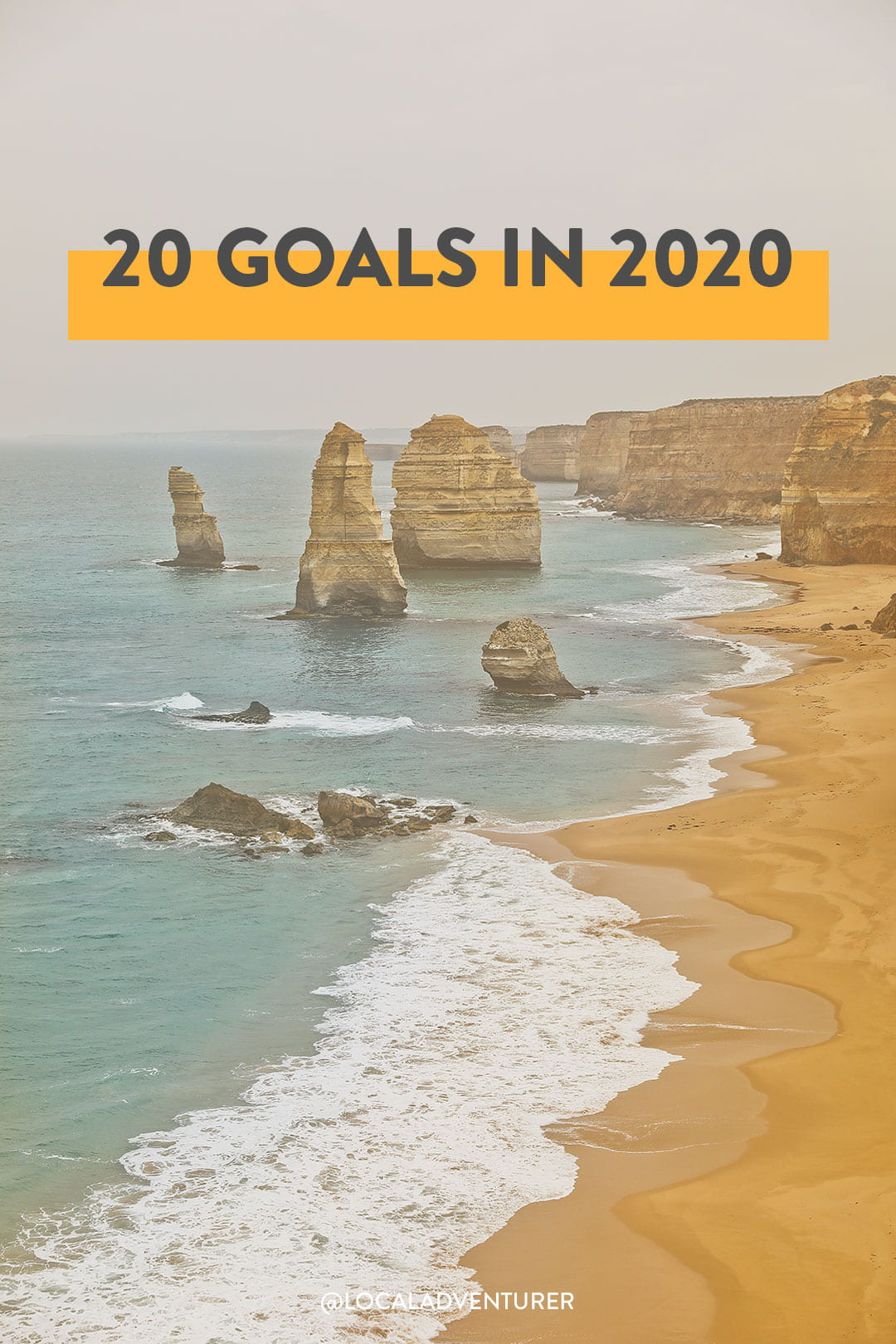 20 Goals in 2020 - New Year's Resolutions
