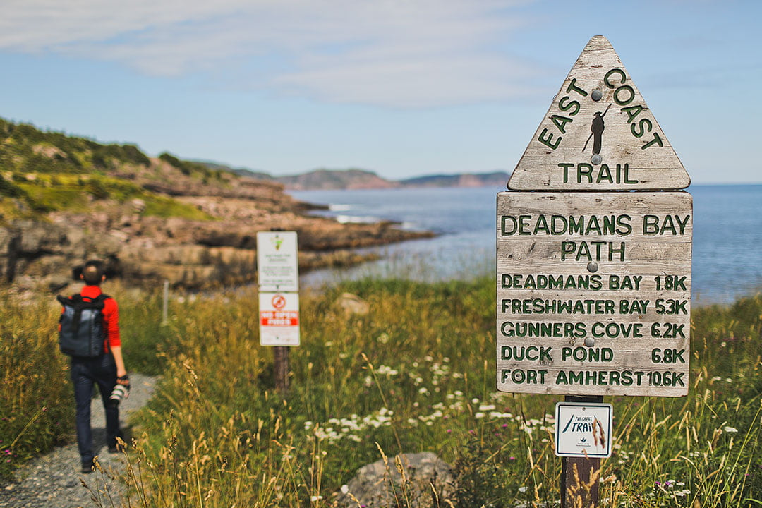 The Famous East Coast Trail Hike off the Coast of Newfoundland and Labrador