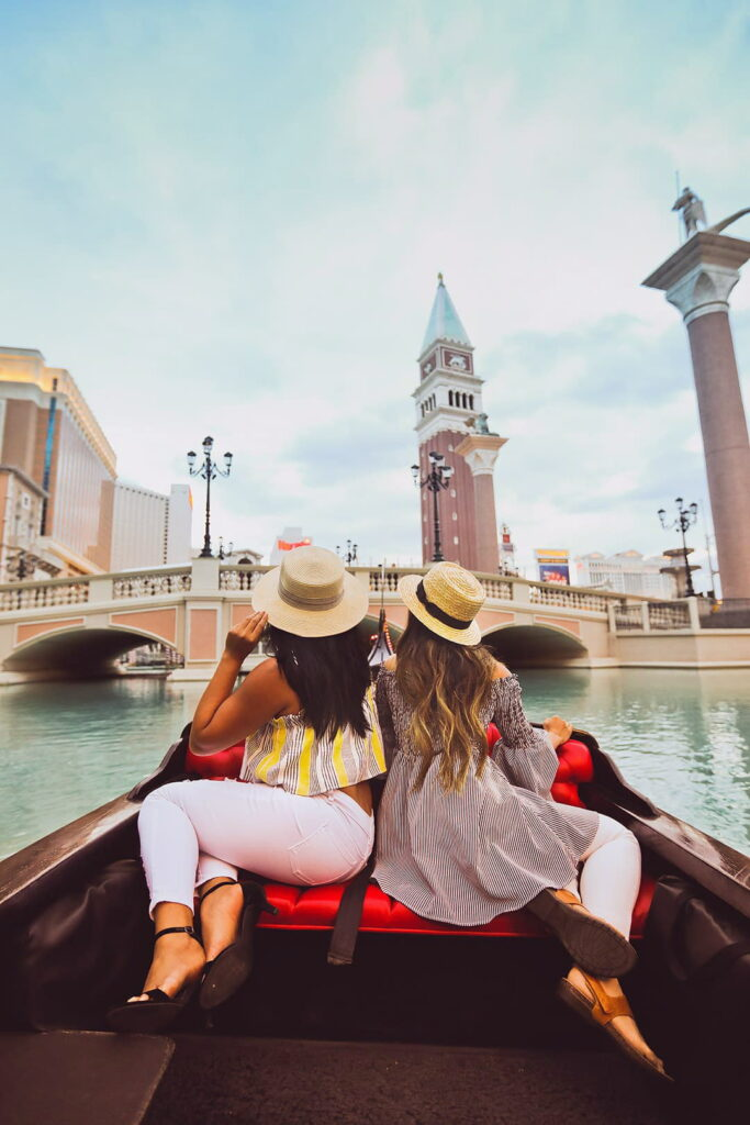 Gondola Rides at the Venetian Las Vegas + 15 Bucket List Worthy Experiences in Las Vegas You Simply Can't Miss