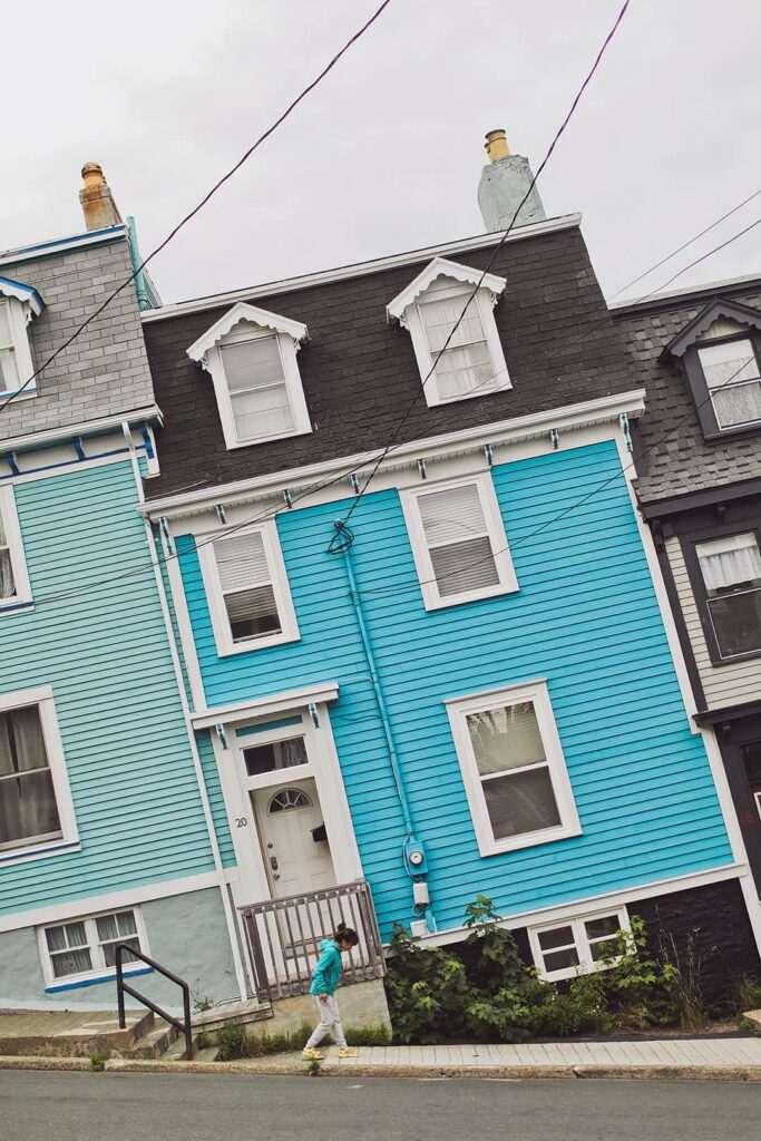 Jelly Bean Row Newfoundland