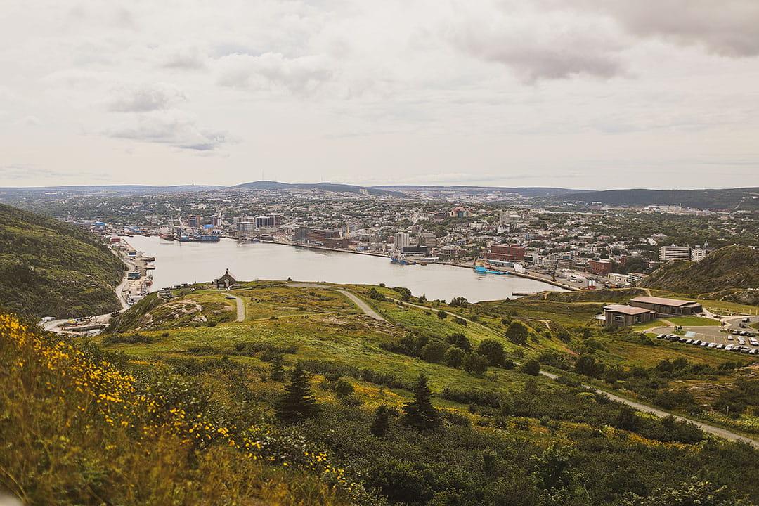 Signal Hill St John's View