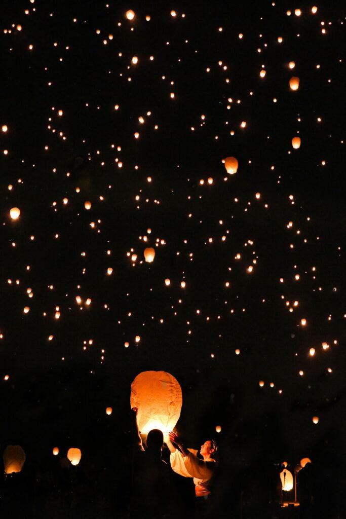 rise light festival vegas
