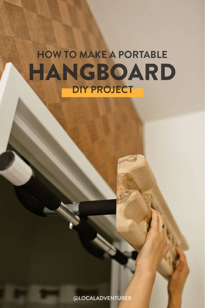 Portable Hangboard DIY