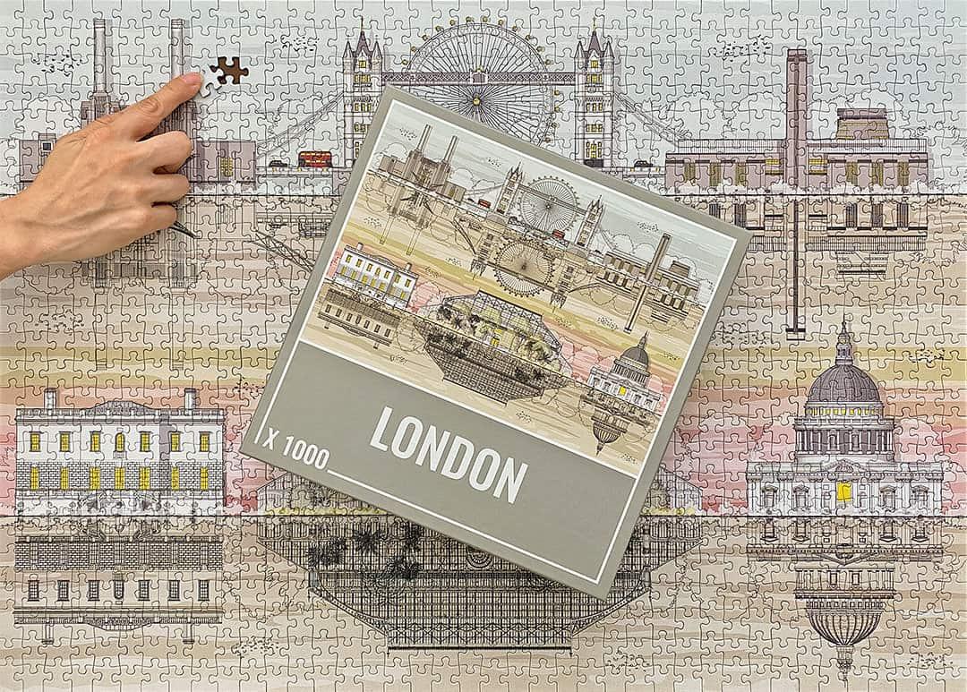 London Jigsaw Puzzles - Cloudberries Puzzle