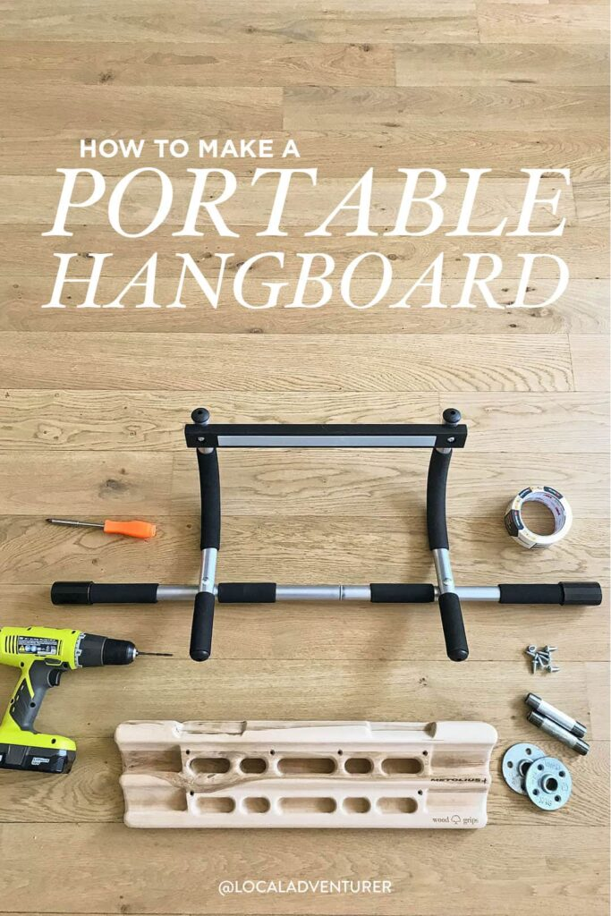 Travel Hangboard DIY