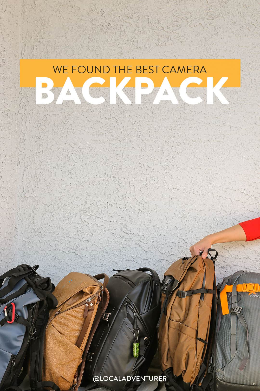 The Best Camera Backpack + What to Look For