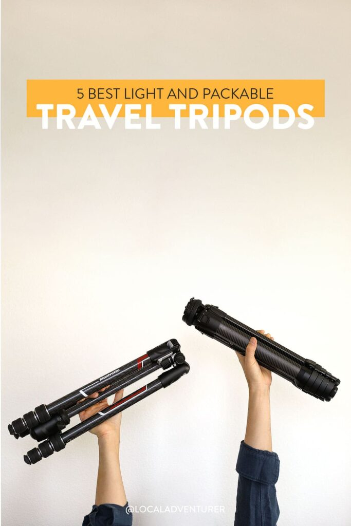The 5 Best Travel Tripods That Are Lightweight, Packable, and Easy to Use