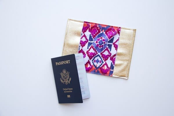 DIY Passport Holder + 21 Insanely Creative Travel DIY Projects