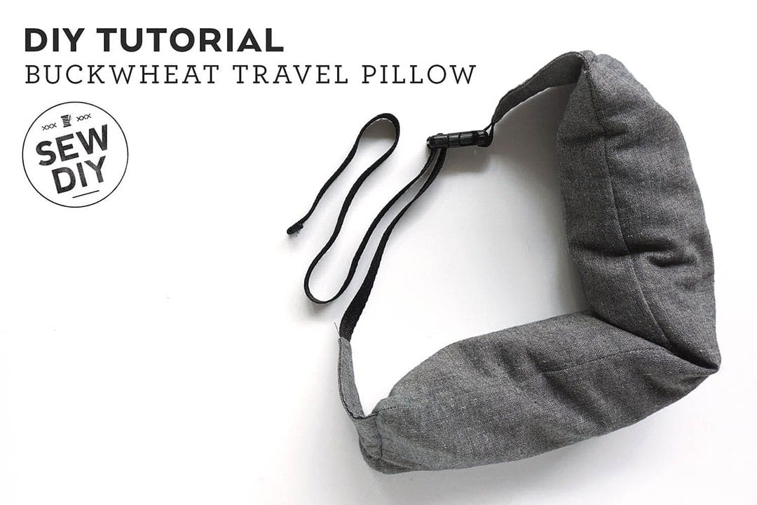 DIY Travel Pillow + 21 Insanely Creative Travel DIY Projects