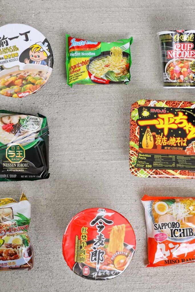 Exotic Noods Noodle Box