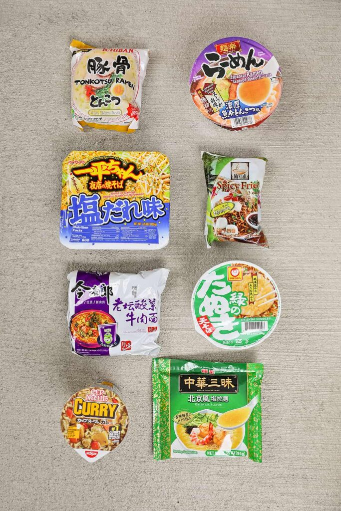 Exotic Noods Subscription Box