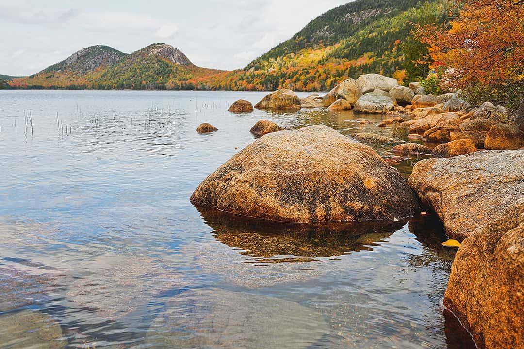 Jordan Pond Acadia