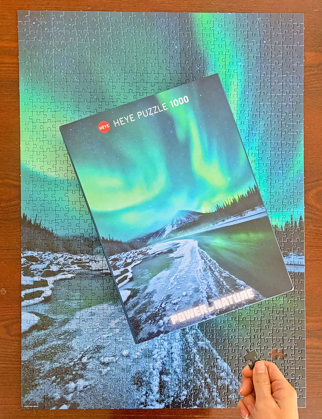 Northern Lights Travel Jigsaw Puzzle from Heye
