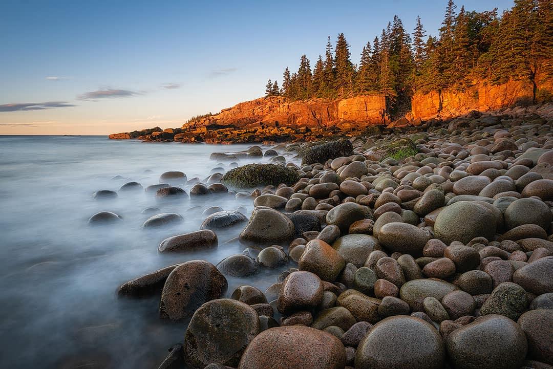 Otter Cliff Acadia