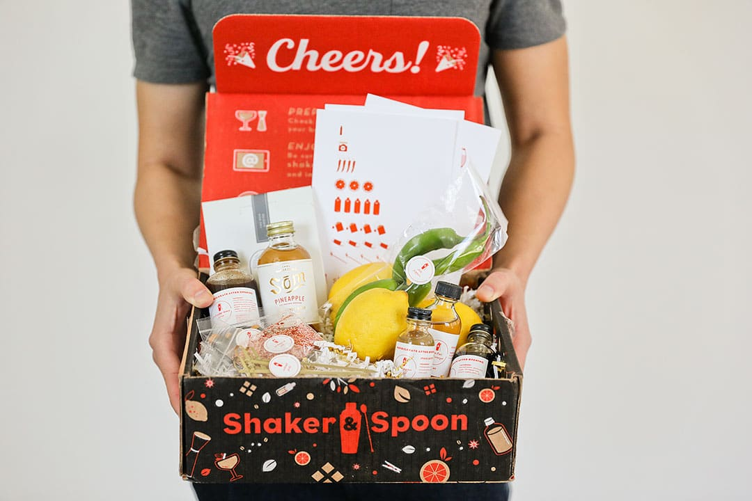 Shaker and Spoon + Top Subscription Boxes to Try This Year