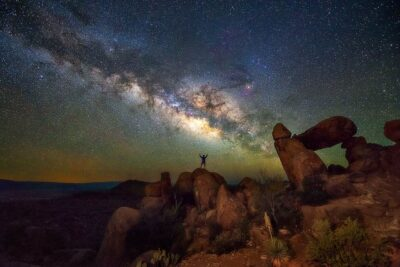 Milky Way Big Bend Stars