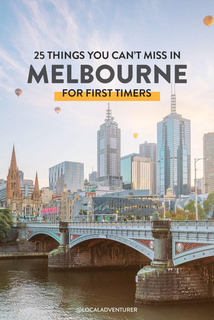 25 Things to Do in Melbourne Australia for First Timers