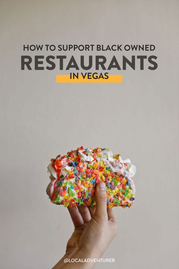 How to Support Black Owned Restaurants in Las Vegas