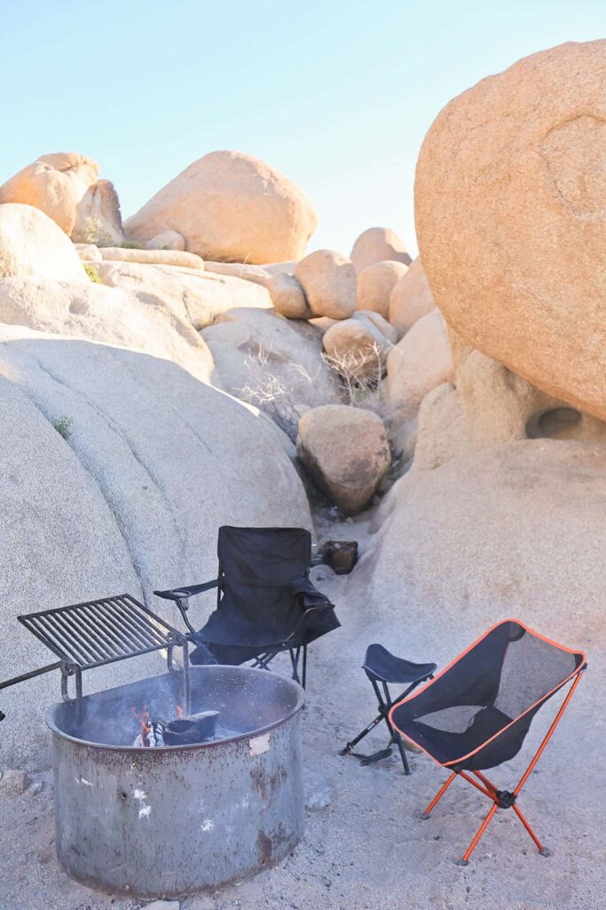 White Tank Campground Joshua Tree National Park California