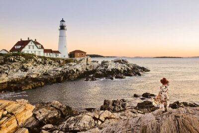 Portland Maine + August Best Places to Travel