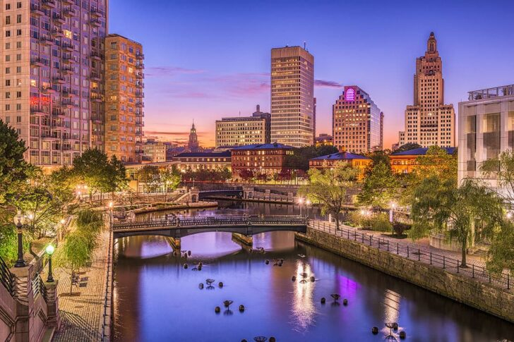 Providence RI + Best Holiday Destinations in August
